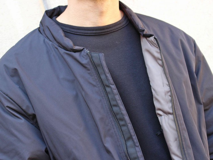DOWN OVER BLOUSON 【BLACK】 / LAMOND ラモンド