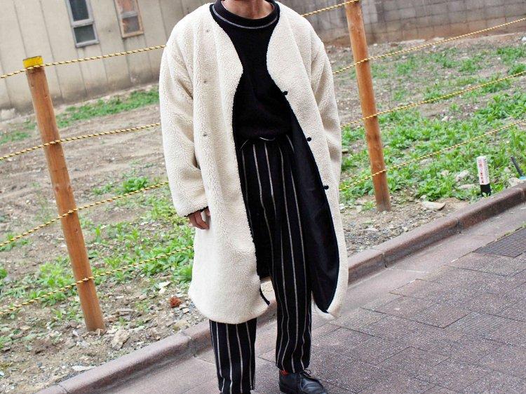Venus Boa Coat 【NATULAL】 / ALDIES
