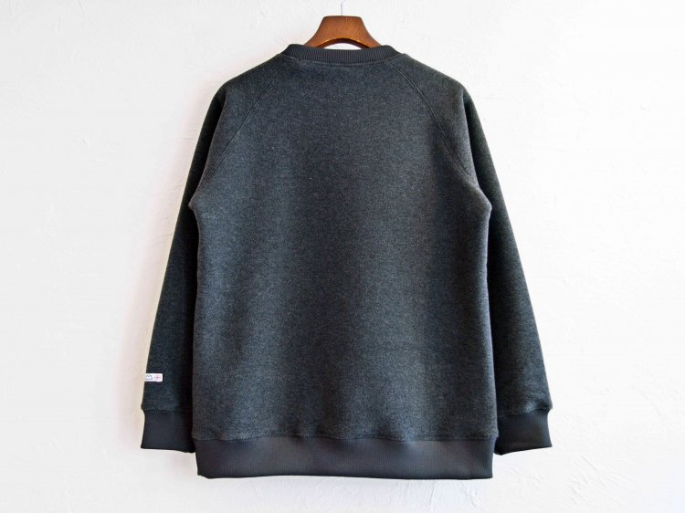 Heather fleece Sweater 【Charcoal】 / MOUTAIN EQUIPMENT