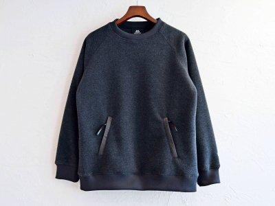 Heather fleece Sweater 【Charcoal】 / MOUTAIN EQUIPMENT