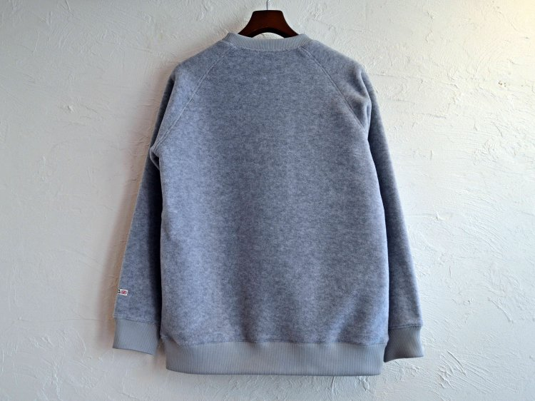 Heather fleece Sweater 【Light Grey】 / MOUTAIN EQUIPMENT