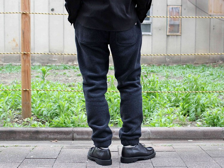 Heather fleece Pants 【Charcoal】 / MOUTAIN EQUIPMENT
