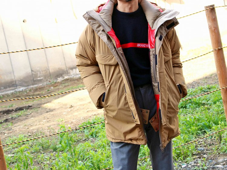 MOUNT BELAY COAT 【S.BEIGE】 / NANGA