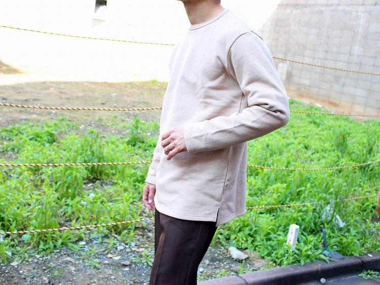アメリカンドライ裏毛セットインカットソー 【COYOTE】 / SPINNER BAIT