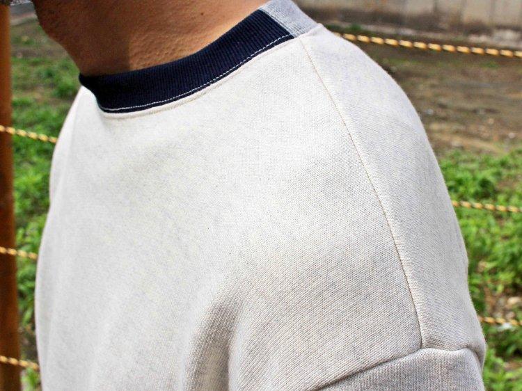usa cotton sweat 【oatmeal】 / modemdesign