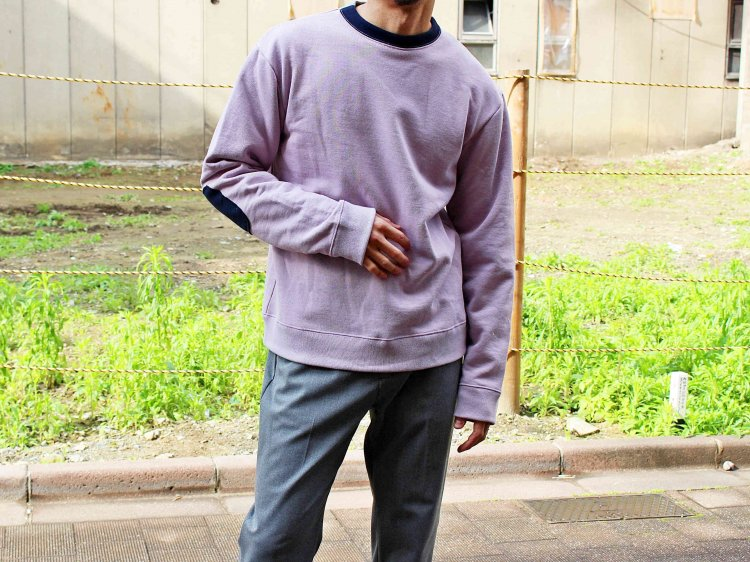 usa cotton sweat 【lavender】 / modemdesign