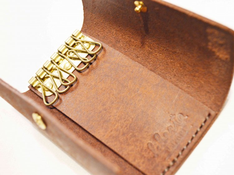KEY CASE � 【DARK BROWN】 / liberta