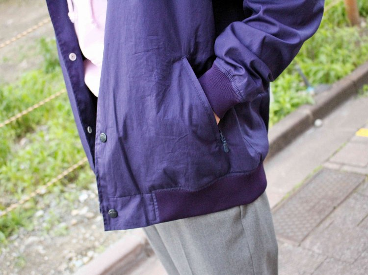 STA JKT 【NAVY】 / necessary or unnecessary