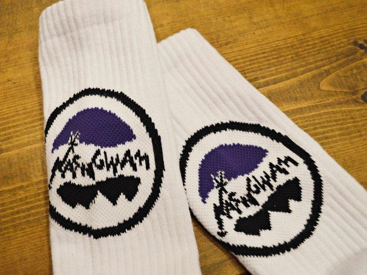 YOSEMITE SOCKS 【WHITE】 / Nasngwam.