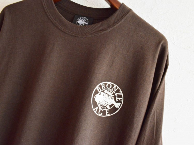 L/S TEE (SKULL FISH) 【BROWN】 / BRONZE AGE<img class='new_mark_img2' src='https://img.shop-pro.jp/img/new/icons1.gif' style='border:none;display:inline;margin:0px;padding:0px;width:auto;' />