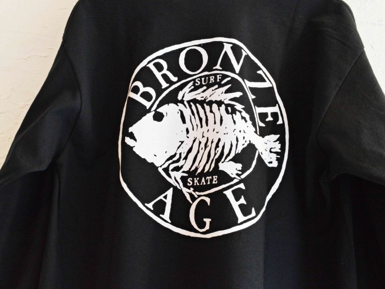L/S TEE (SKULL FISH) 【BLACK】 / BRONZE AGE<img class='new_mark_img2' src='https://img.shop-pro.jp/img/new/icons1.gif' style='border:none;display:inline;margin:0px;padding:0px;width:auto;' />