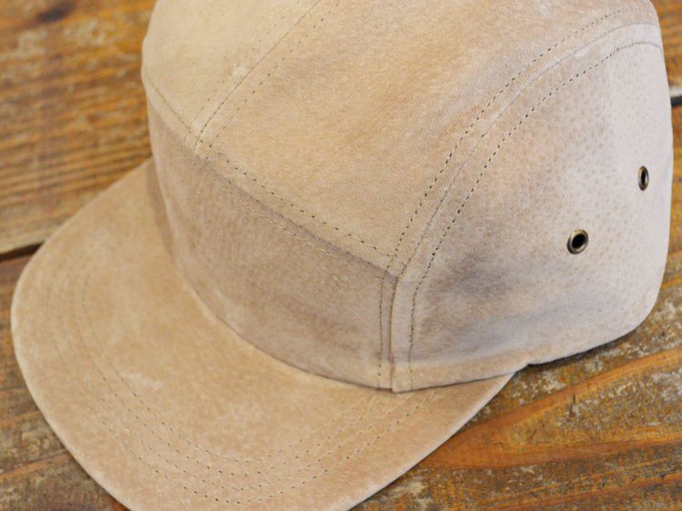 SUEDE CAMP CAP 【SAND】 / Winner Caps
