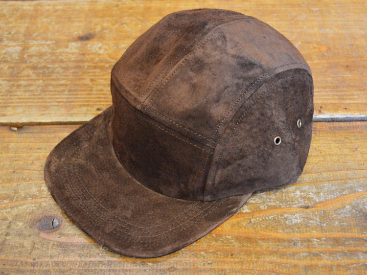 SUEDE CAMP CAP 【DARK BROWN】 / Winner Caps