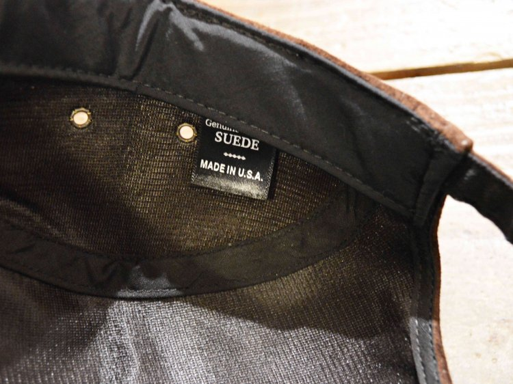 SUEDE CAMP CAP 【DARK BROWN】 / Winner Caps