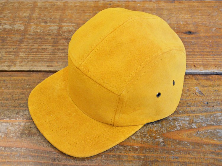 SUEDE CAMP CAP 【GOLD】 / Winner Caps