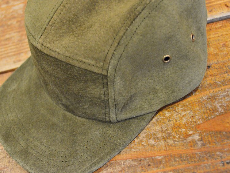 SUEDE CAMP CAP 【OLIVE】 / Winner Caps