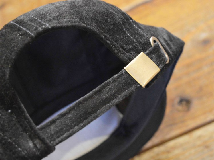 SUEDE CAMP CAP 【BLACK】 / Winner Caps