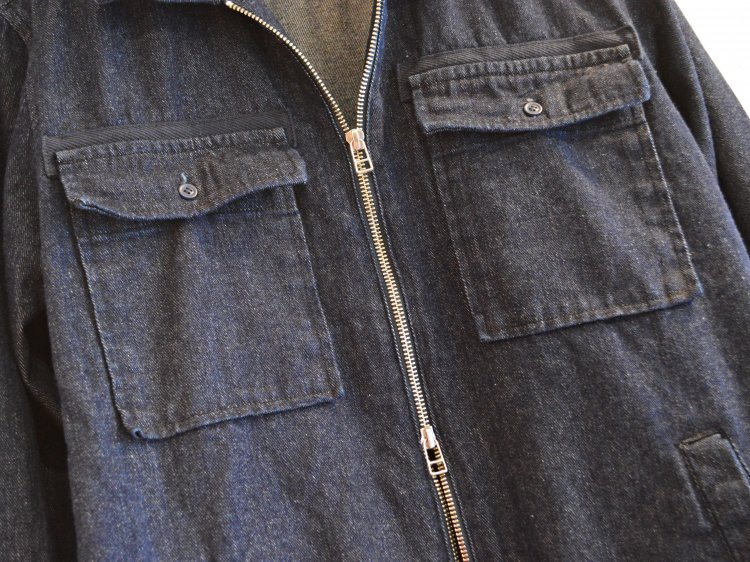STONE FIELD JACKET 【DENIM】 / Nasngwam.