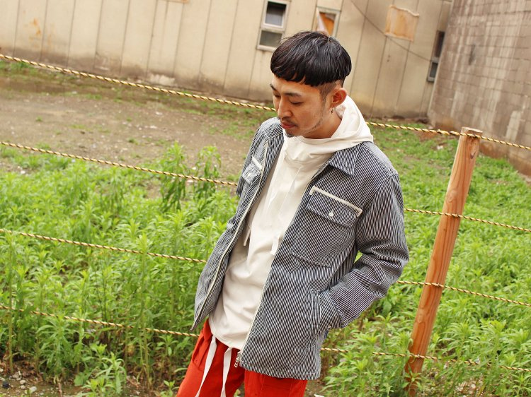 STONE FIELD JACKET 【HICKORY】 / Nasngwam.