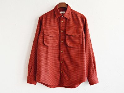WEED SHIRTS 【RED】 / Nasngwam.