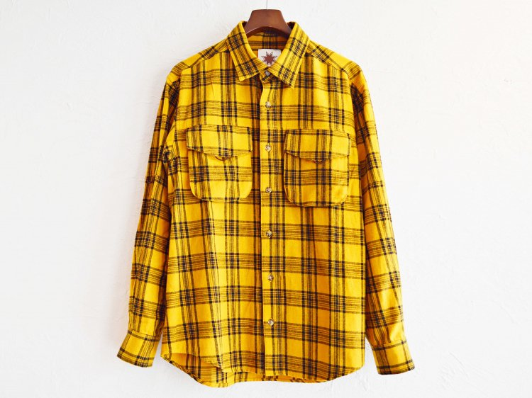 WEED SHIRTS 【YELLOW】 / Nasngwam.