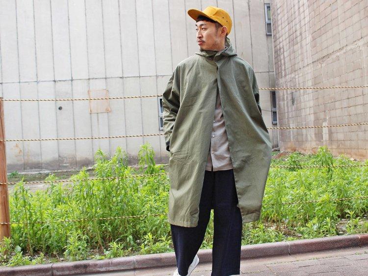 Side Open Hoodie 【Olive】 / YARMO ヤーモ
