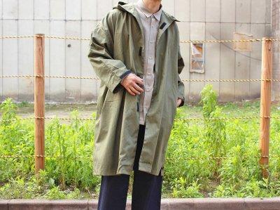 Side Open Hoodie 【Olive】 / YARMO