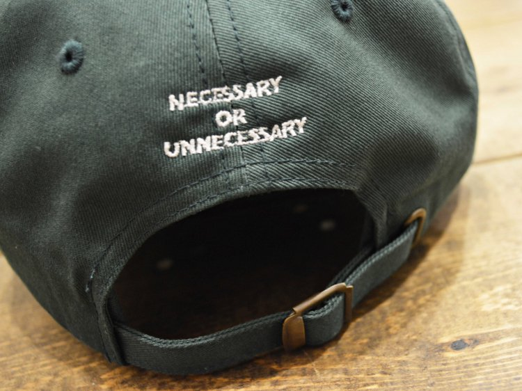 AMS 6 PANEL 【GREEN】 / necessary or unnecessary
