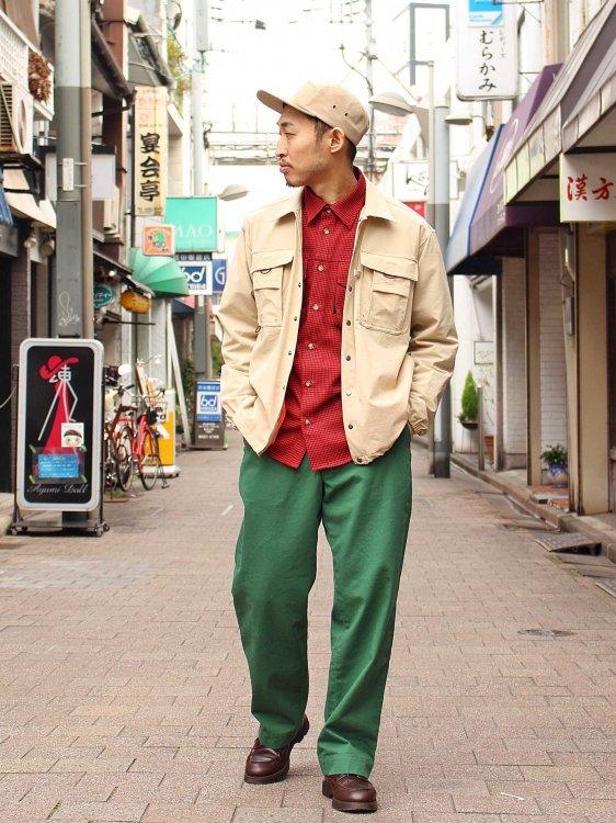 CRAGGY JACKET 【BEIGE】 / Nasngwam.