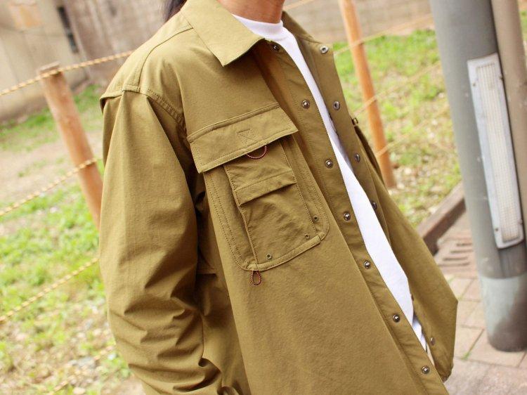 CRAGGY JACKET 【OLIVE】 / Nasngwam.