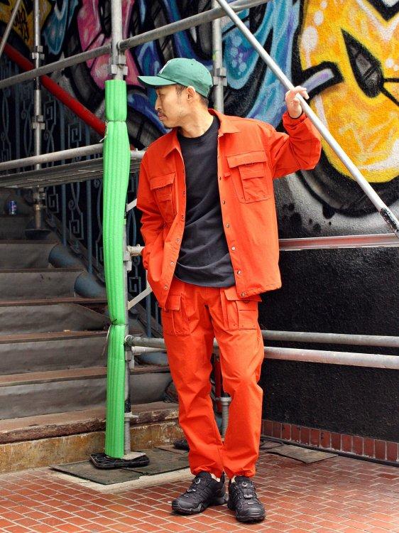 CRAGGY JACKET 【ORANGE】 / Nasngwam.