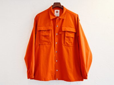 CRAGGY JACKET 【ORANGE】 / Nasngwam.