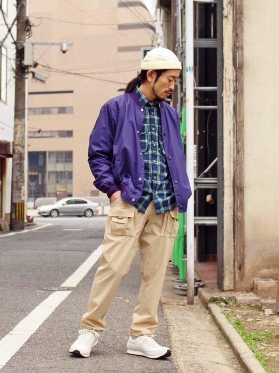 CRAGGY PANTS 【BEIGE】 / Nasngwam.