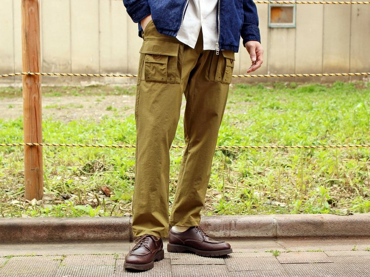 CRAGGY PANTS 【OLIVE】 / Nasngwam.