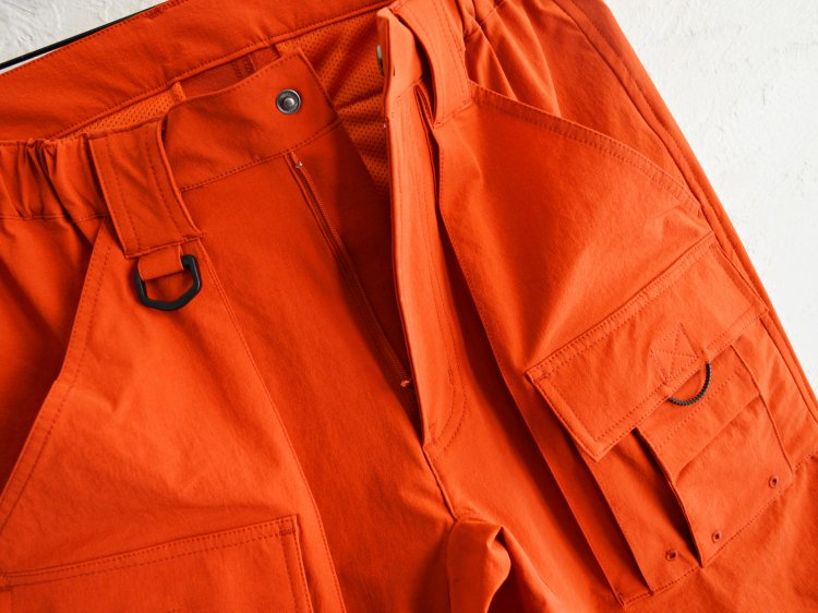 CRAGGY PANTS 【ORANGE】 / Nasngwam.