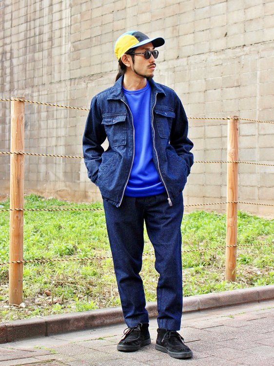 GALLIANO PANTS 【DENIM】 / Nasngwam.