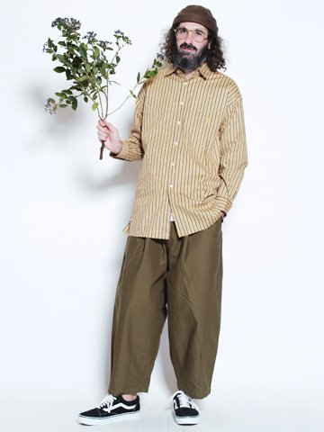 Sensation Wide PT 【Olive】 / ALDIES