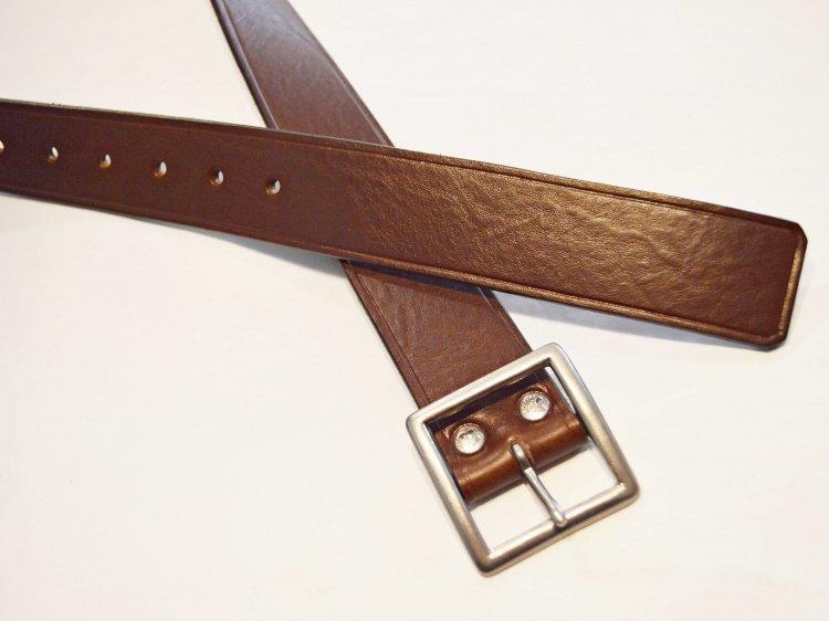 ヤンキーベルト 【Etrusco Leather CHOCO】 / saranam