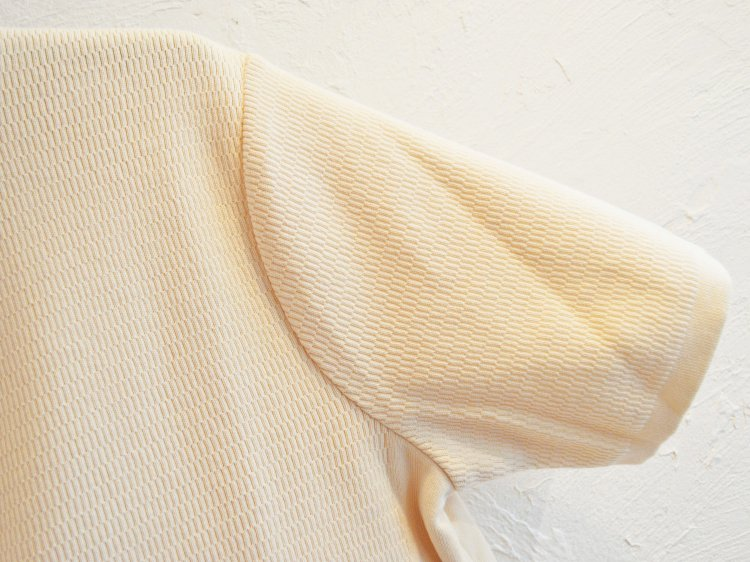COTTON THERMAL S/S KNIT 【IVORY】 / RoToTo