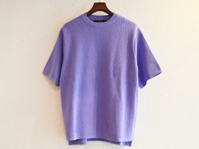 COTTON THERMAL S/S KNIT 【L.PURPLE】 / RoToTo<img class='new_mark_img2' src='https://img.shop-pro.jp/img/new/icons1.gif' style='border:none;display:inline;margin:0px;padding:0px;width:auto;' />