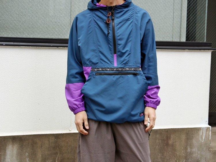 PACKABLE ANORAK PARKER 【Navy/Purple】 / LAST CHANCE