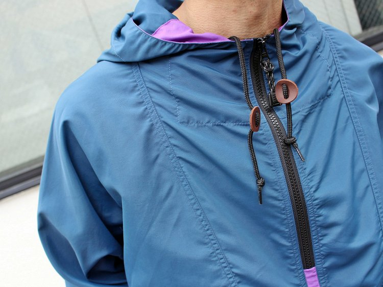 PACKABLE ANORAK PARKER 【Navy/Purple】 / LAST CHANCE