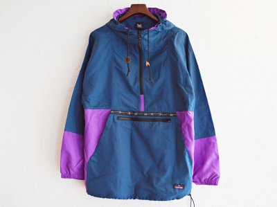PACKABLE ANORAK PARKER 【Navy/Purple】 / LAST CHANCE<img class='new_mark_img2' src='https://img.shop-pro.jp/img/new/icons1.gif' style='border:none;display:inline;margin:0px;padding:0px;width:auto;' />