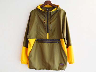 PACKABLE ANORAK PARKER 【Olive/Sunflower】 / LAST CHANCE<img class='new_mark_img2' src='https://img.shop-pro.jp/img/new/icons1.gif' style='border:none;display:inline;margin:0px;padding:0px;width:auto;' />