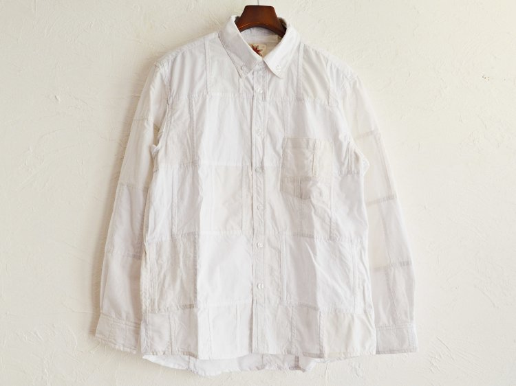 SKELETER SHIRTS 【WHITE】 / Nasngwam.