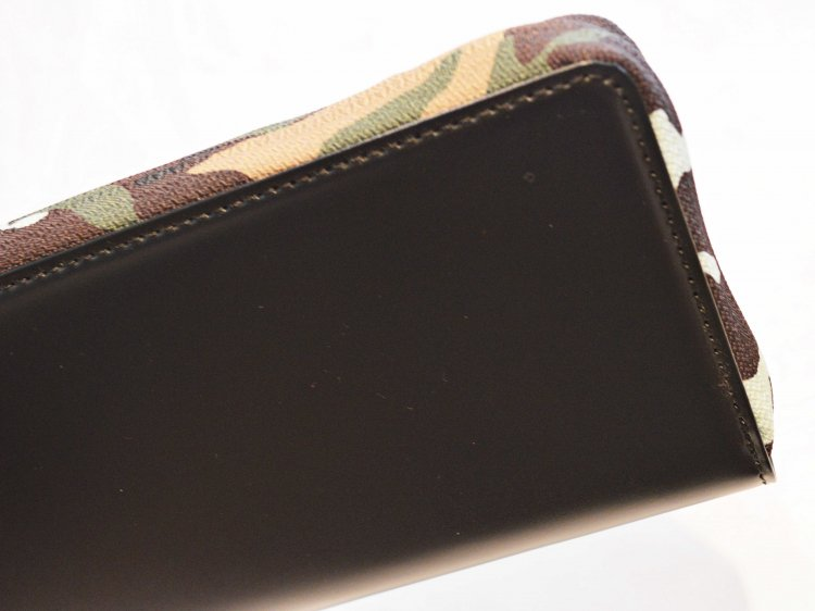 soft glass Long Wallet 【Back】 / soglia