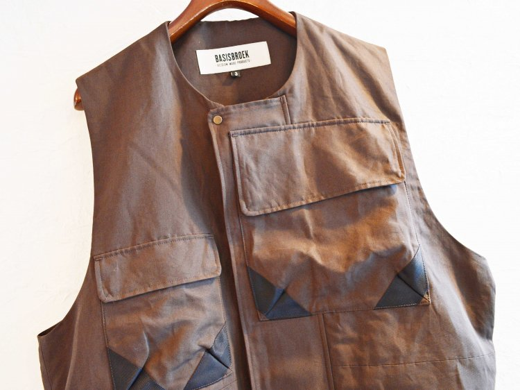 RIGI 【BROWN】 / BASISBROEK