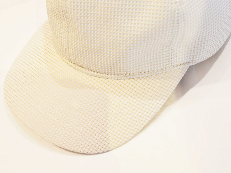 WAFFLE INPORT FABRIC CAP 【BEIGE】 / morno<img class='new_mark_img2' src='https://img.shop-pro.jp/img/new/icons1.gif' style='border:none;display:inline;margin:0px;padding:0px;width:auto;' />