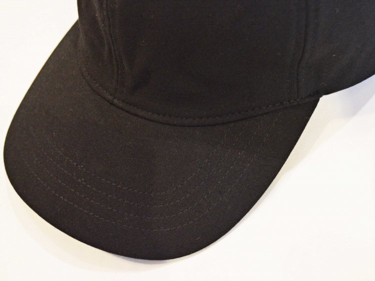 HEAVY COTTON INPORT FABRIC CAP 【BLACK】 / morno<img class='new_mark_img2' src='https://img.shop-pro.jp/img/new/icons1.gif' style='border:none;display:inline;margin:0px;padding:0px;width:auto;' />