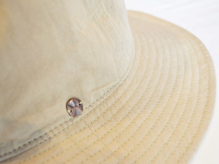 C/L 高密度WEATHER CLOTH METRO HAT 【BEIGE】 / morno